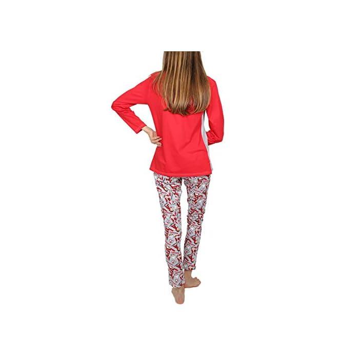 414YGUgZuIL Pijama de punto de algodón, de manga larga, pantalón largo y cuello redondo. La camiseta es de punto vigoré, de color gris jaspe con mangas a contraste y detalle en glitter personalizado de la marca DISNEY. Tshirt: 95% Cotton/co 5% Polyester/pes Trousers: 100% Cotton/co