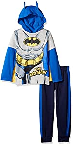 DC Comics Boys' 2 Piece Batman Hoodie Set With Mask at Gotham City Store