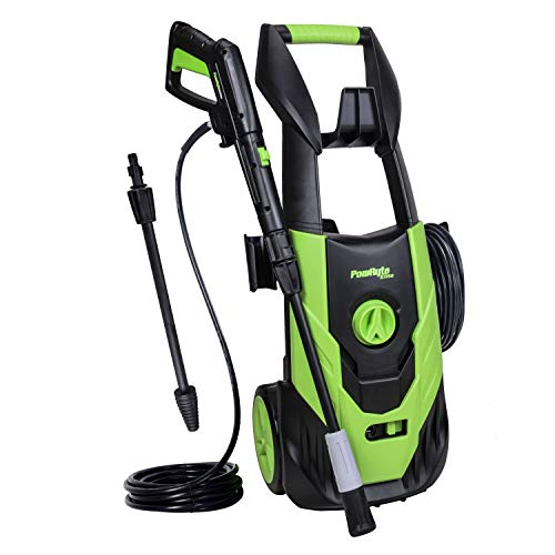 - PowRyte Elite 2100 PSI 1.8 GPM Electric Pressure Washer, Electric Power Washer with Stepless Angle Adjustment Spray Nozzle, Extra Turbo Nozzle