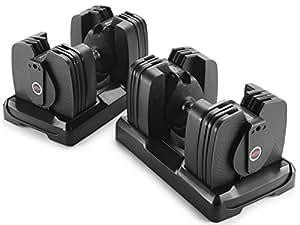 Bowflex SelectTech 560 Dumbbell (Pair), 5 lb - 60 lb