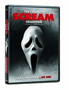 The Complete Scream Collection with Mask / Frissons: La Collection Complète avec Masque (Scream / Frissons 1-4) (Sous-titres français)