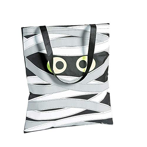 Party Supplies Mummy Tote Bag - Trick Treat