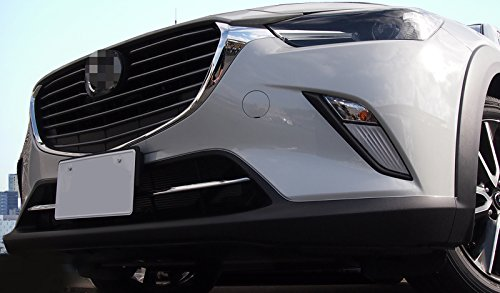 Beautost Fit For Mazda CX-3 2016 2017 2018 2019 Chrome Front Lower Grill Grille Cover Trims Kate Wenzhou automobile supplies factory