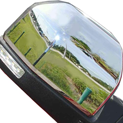 1 Pair Replacement for Replacement F150 2015 Triple ABS Chrome Rearview Mirror Shell Cover Side View Protection Cap by Topker (Image #3)