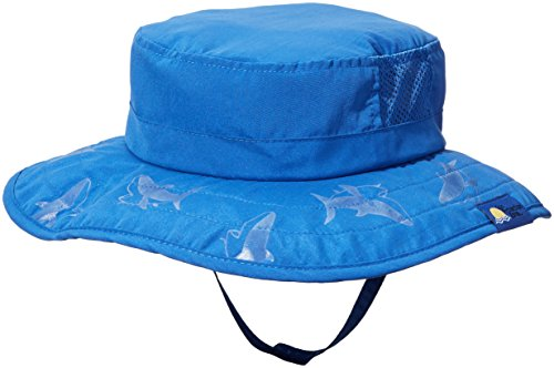 2pk Kids Safari Hat Sun Protective Zone UPF 50+ Child Block UV Rays Shade 938151 Blue Boys Fits most children ages 3-10 by Sun Protection Zone