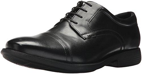 (Nunn Bush Men's Dixon Cap Toe Lace Up Oxford, Black, 9 M)