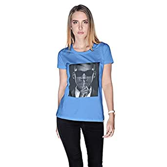 Creo Will Smith T-Shirt For Women - S, Blue