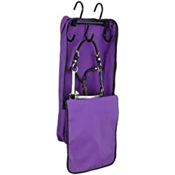 Tough 1 Mini Halter and Bridle Bag with Rack, Purple