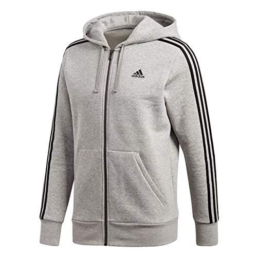 capucha Sudadera hombre para Ess con 3s Adidas deportiva negro Fz gris color B 6OEq1