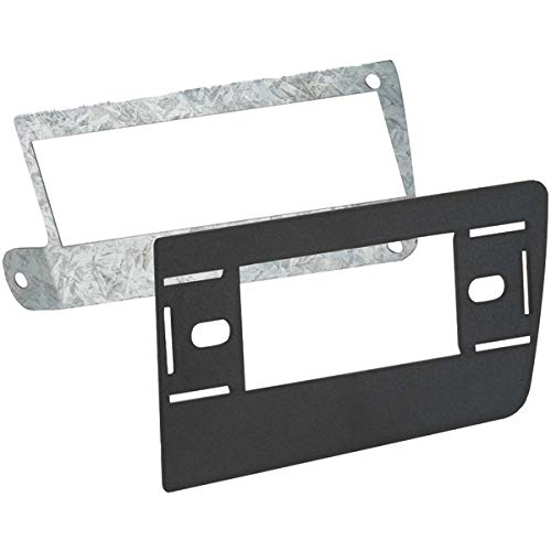 Metra - DIN Installation Kit for Select Chevrolet and GMC Vehicles - Black