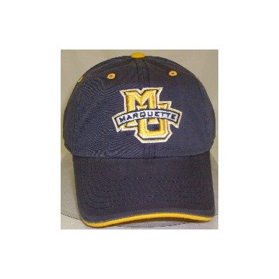 1ffc9e529ad6d Marquette Golden Eagles Adult Adjustable Hat
