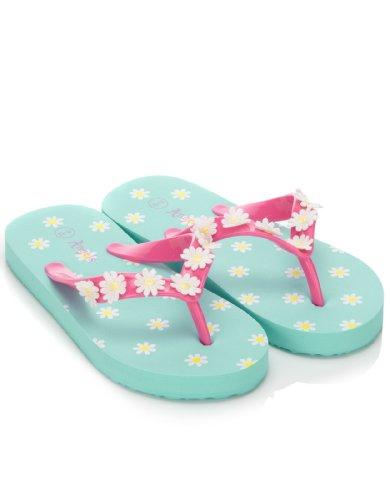 Accessorize Girls Summer Daisy Flip Flop