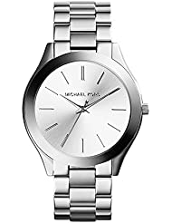 Michael Kors Women's Runway Silver-Tone Watch MK3178