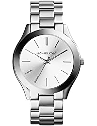 Women's Runway Silver-Tone Watch MK3178