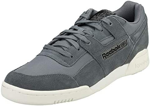 Reebok Classic Workout Plus Mu Sneaker for Men Grey Size 43