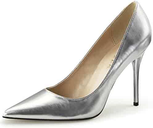dc4203cf5e Summitfashions Womens Pointed Toe Shoes High Heel Pumps Classic Stilettos 4  Inch Heels