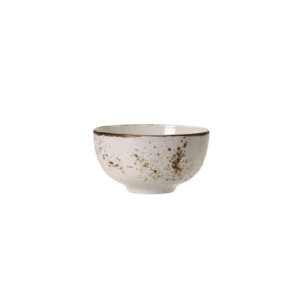 Steelite 11550242 Craft 5'' White Chinese Bowl - 12 / CS