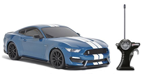 Maisto R/C 1:14 Shelby GT350 Ford Mustang Radio Control Vehicle (Colors May Vary)