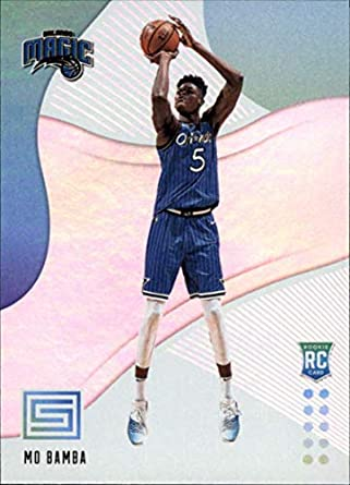 2018-19 Status Basketball #104 Mo Bamba Orlando Magic Rookies Level 1 Rookie Card