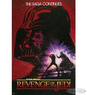 STAR WARS-Revenge Of The Jedi-61 x 91,5 cm, diseño de cartel ...
