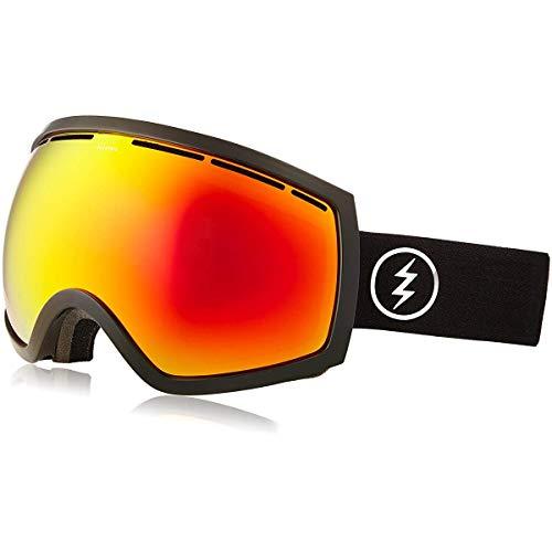 Electric Snowboard Goggles Eg2 (Electric Visual EG2 Gloss Black/Bronze Red Chrome Snow Goggle)