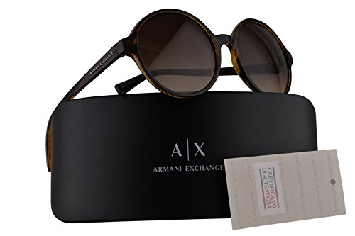 Armani Exchange AX4059S Sunglasses Tortoise w/Brown Gradient 55mm Lens 803713 AX 4059S - Armani Cheap Exchange Sunglasses