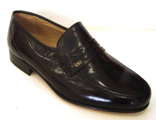 Alida - Mocasín para Ancho Especial Caballero - 16 Negro - Hombre - Talla 45: Amazon.es: Zapatos y complementos
