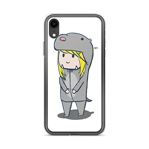 iPhone XR Case Anti-Scratch Animated Cartoon Transparent Cases Cover Otter Costume Cartoons Caricature Crystal Clear]()