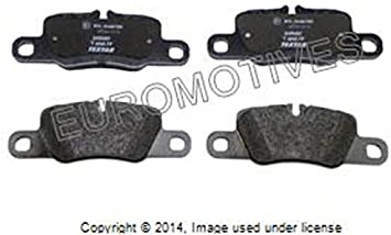 2010 2011 2012 2013 For Porsche Panamera Front and Rear Ceramic Brake Pads