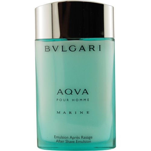 Aqva Marine Pour Homme By Bvlgari After Shave Emulsion, 3.4-Ounce by Bvlgari