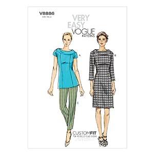 Vogue Patterns V8886 - Patrones de Costura para Blusas