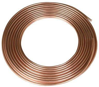 MUELLER REF-3/16 Refrigeration Soft-Coil Copper Tubing, 3/16