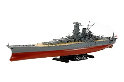 Tamiya Models Japanese Battleship Yamato Model Kit