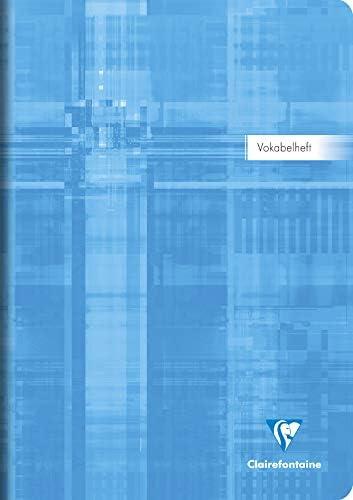 Clairefontaine Vokabelheft A4 liniert 3 Spalten 40 Blatt 31289 C