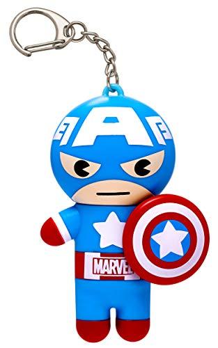 Lip Smacker Marvel Super Hero Captain America Lip Balm, Red, White and Blue-berry