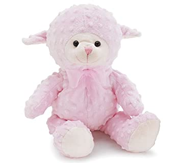 Amazon Com Pink Lamb Plush Stuffed Animal Baby Or Infant