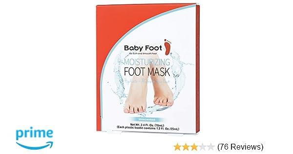 Amazon Baby Foot Moisturizing Foot Mask 24 Fl Oz Unscented