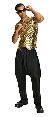 MC Hammer Rapper Vest Costume Vest Gold Lame Vest 80s Vest 90s Vest Only