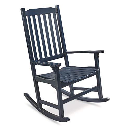 CASTLECREEK Oversized Rocking Chair, 400-lb. Capacity, Navy