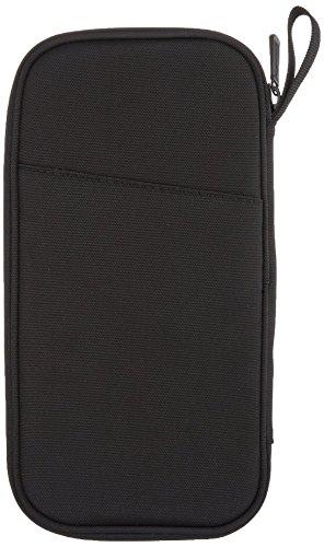 414YTGvw0KL - AmazonBasics RFID Travel Passport Wallet Organizer - 10 x 5 Inches, Black