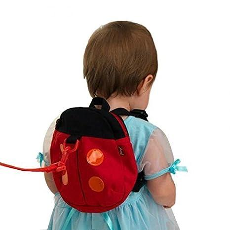 Amazon.com : Walking Leash Backpack for Babies and Toddlers (ladybug) : Baby