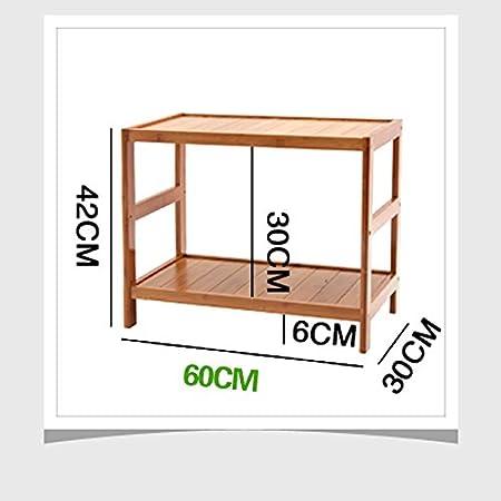 Kapazit/ät : 50 * 30 * 42cm B/üro Haushalt Lagerregal Bambus-Lagerregal Drucker Rack Scanner Rack Aufbewahren /& Ordnen BOBE Shop- Desktop Mehrzweck-Lagerregal