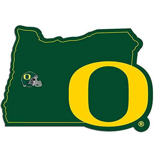 NCAA Oregon Ducks Home State Decal, 5