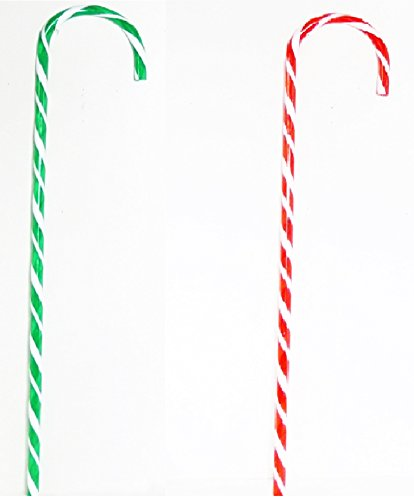 Jumbo Candy Cane Decorations 32 Inches Tall