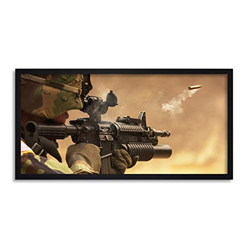Army Military Shell Casing M-4 Rifle Gun Firing Photo for sale  Delivered anywhere in Canada