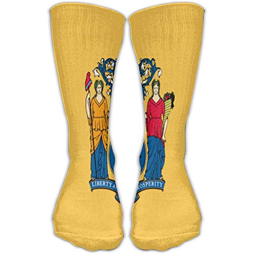 - State Flag of New Jersey High Outdoor Sock Gift Casual