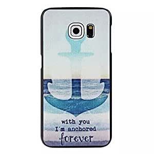 SHOUJIKE Together forever Pattern PC Hard Case for Samsung Galaxy S6 edge