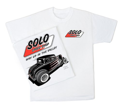 ORD Classic Adult White T-shirt, XL (Speed Tin Sign)