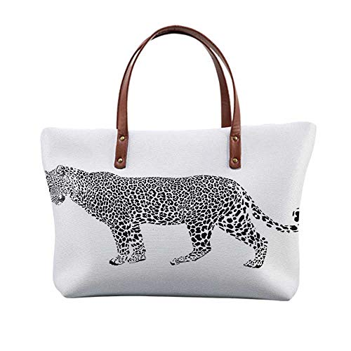 - Safari Decor Stylish Print Top Handle Bags,for Women,15.3