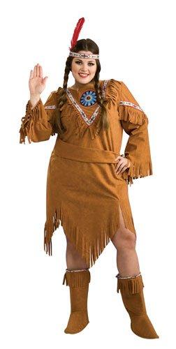 Native American Girl Plus Size Costume,
